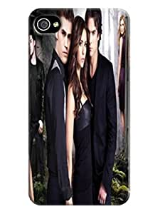 The Waterproof Protection Case Cover For iphone 4/4s,fashionable The Vampire Diaries New Style Design