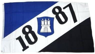 Flagge Hamburg Garten NEU 90 x 150 cm Flaggen Fahne