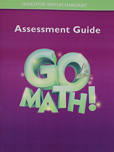 Go Math!: Assessment Guide Grade 3