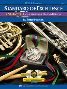 Standard of Excellence (Soe) Enhanced Bk 2, Clarinet (Comprehensive Band Method)