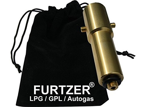 ca. 100mm Furtzer/® LPG GPL autogas filling point adapter M10 BAYONET long version with fabric bag