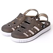 Kebinai Summer Beach Hole Shoes Men's Shoes Korean Casual Sandals and Slippers Male Lazy Shoes