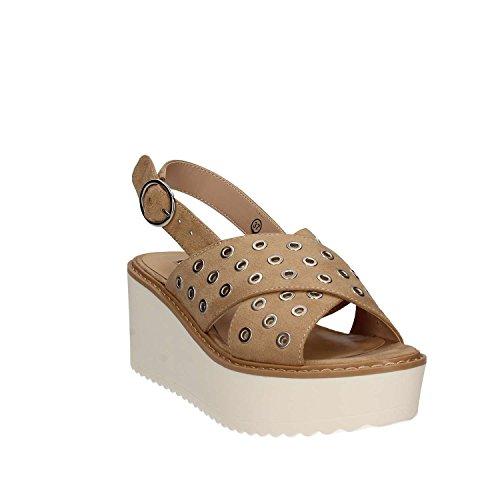Gaudi Sandalo 65354 V73 Zeppa Marrone Donna rUarwOBxq