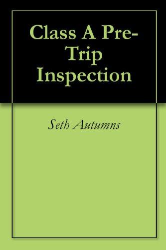 Class A Pre-Trip Inspection
