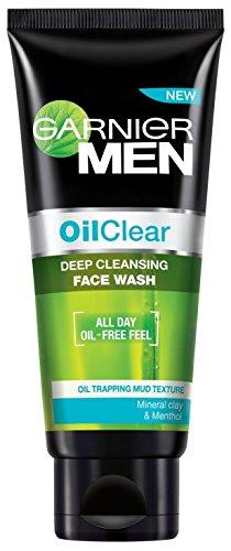 Garnier Men Oil Clear Face Wash, 100g