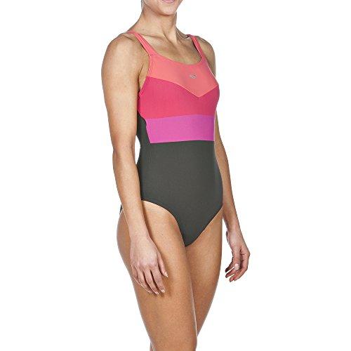 Arena Mujer Body Lift Audrey–Bañador Ash Grey/ Teaberry