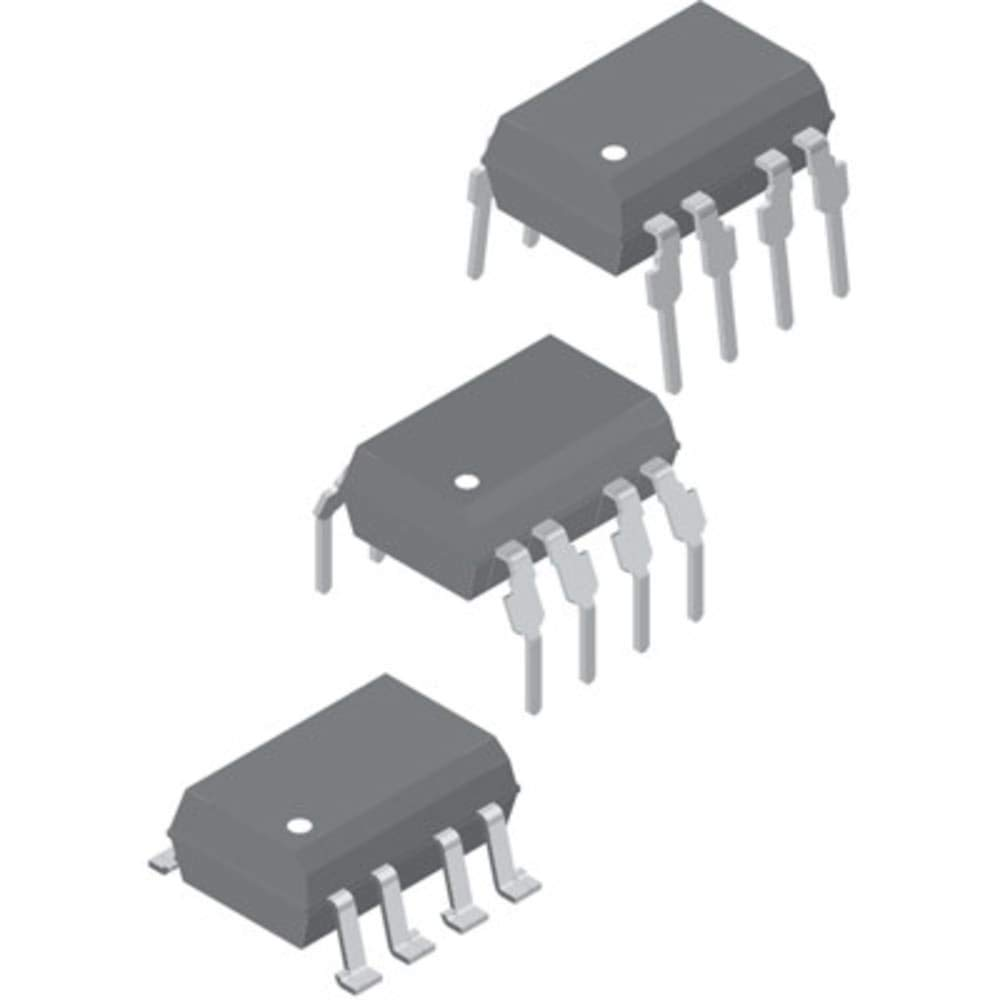 OPTOCOUPLER LOGIC-OUT OPEN COLLECTOR DC-IN 1-CH 8-PIN PDIP TUBE, Pack of 100