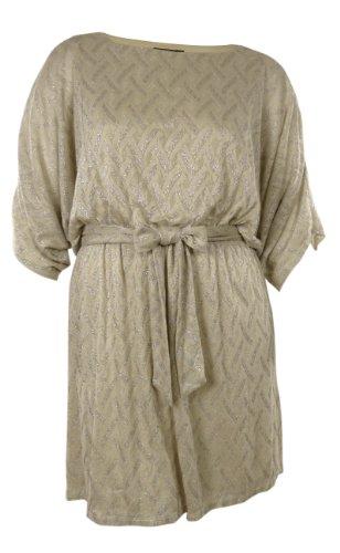 Buy belted dolman knit dress - 4