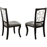 Steve Silver Company Cayman Side Chairs (Set of 2), 20 x 23 x 39