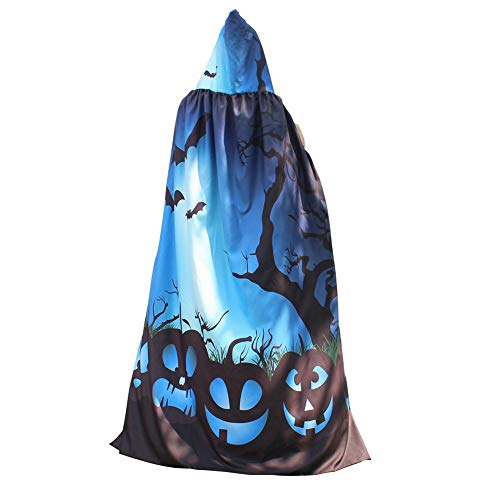 Dora Bridal Halloween Jedi Robe Cloak Hood Costume for Adults Cosplay Cape Polyester Outfit ()