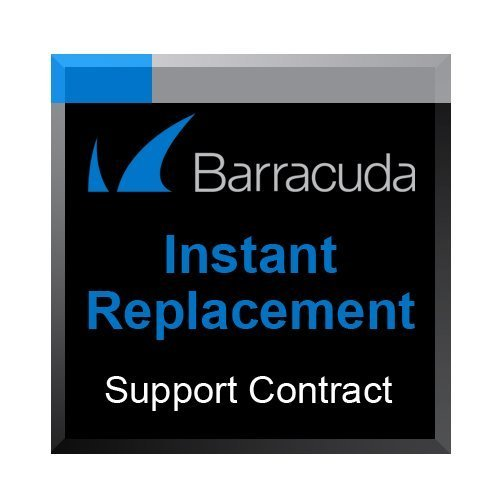 Barracuda Message Archiver 450 Instant Replacement Support Contract - 3 Years