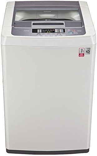 LG 6.5 kg Fully Automatic Top Loading Washing Machine  T7569NDDL.ABWPEIL Blue and White