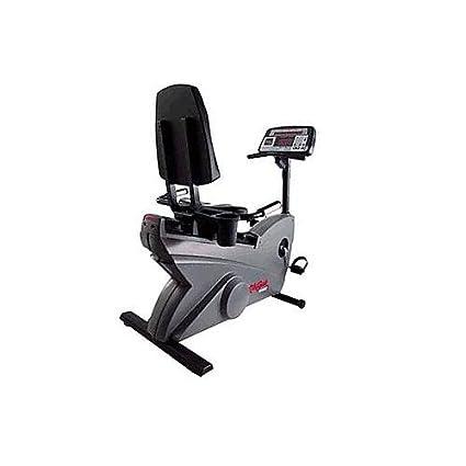 Amazon Life Fitness LifeCycle 9500HR Recumbent Exercise Bike