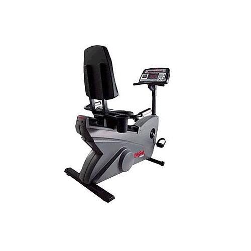 Life Fitness LifeCycle 9500HR Recumbent Exercise Bike Life Fitness