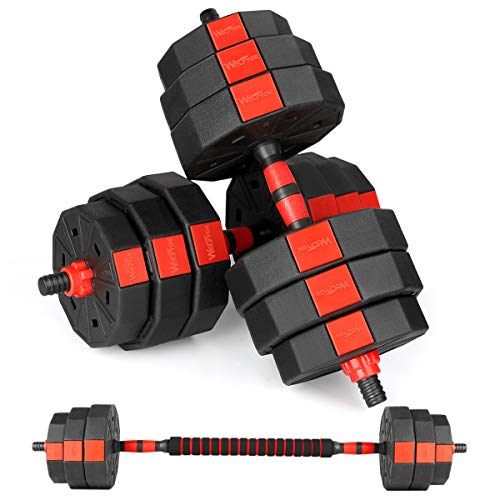 Bronze Times Dumbbells Set, 44Lbs/66Lbs Adjustable Weight Barbell, Home Gym Equipment for Men Women Fitness Workout…