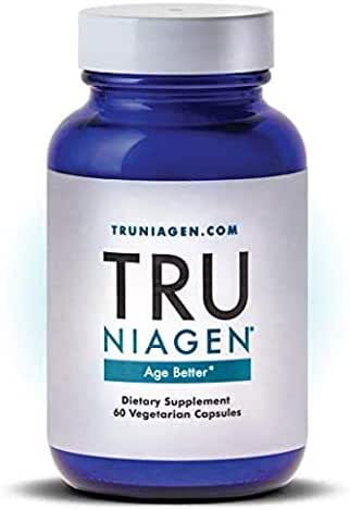 TRU NIAGEN® – Nicotinamide Riboside NR | Advanced NAD Supplement | Vitamin B3 | Vegetarian Capsules | Developed by ChromaDex