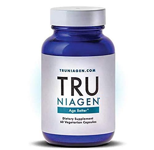 TRU NIAGEN - Nicotinamide Riboside NR   Advanced NAD Supplement   Vitamin B3   Vegetarian Capsules   Developed by ChromaDex