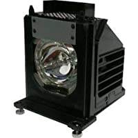 WD65833 Mitsubishi DLP TV Lamp Replacement. Lamp Assembly with Genuine Osram Neolux Bulb Inside.