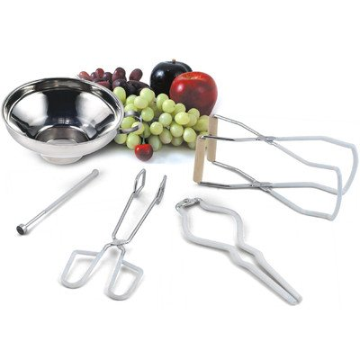 Cook N Home 5 Piece Canning Tool Set