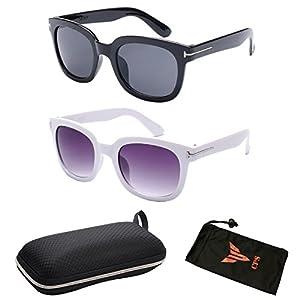 (#BJ5091) 2 Pairs Vintage Outdoor Designer Celebrity TF 007 James Bond Sunglasses Eyewear Glasses Sunglass