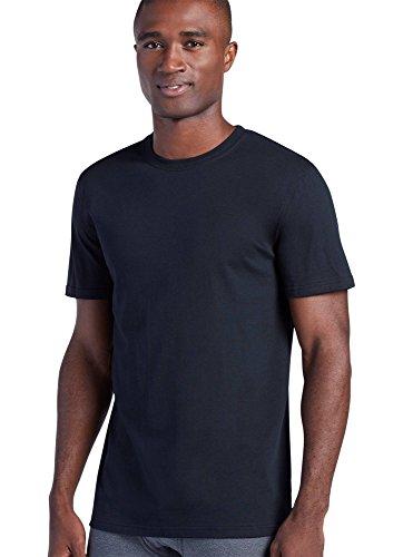 Jockey Men's T-Shirts Signature T-Shirt, Black, 2XL