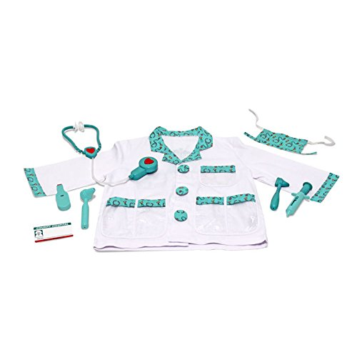 Melissa & Doug Role Play Doctor Costume Set