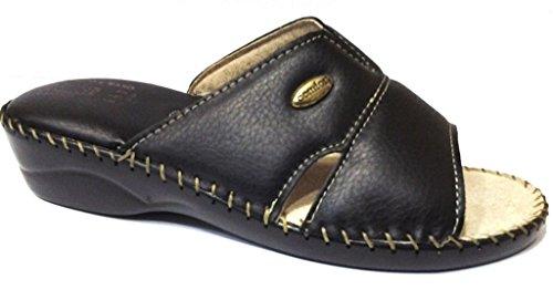 Estar Para Zapatillas Sintética Casa Mujer 38 Por Piel 3rose De Negro ECnxqEW0