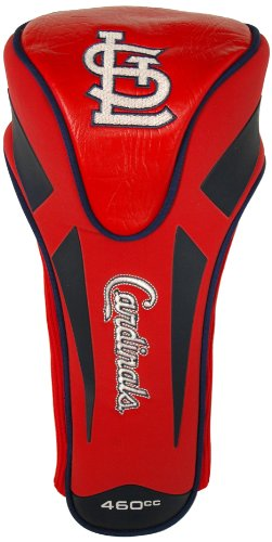 Team Golf MLB St Louis Cardinals Golf Club Single Apex Driver Headcover, Fits All Oversized Clubs, Truly Sleek - Louis Cardinals Single