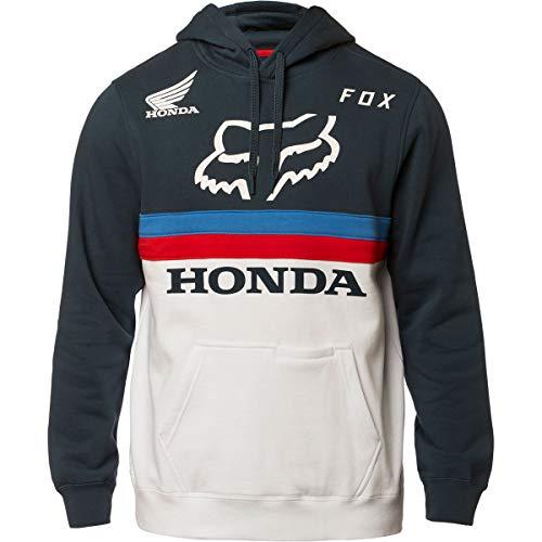 Fox Racing Honda Pullover Hoodie-Navy/White-L