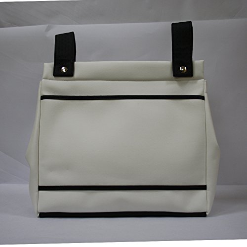 Bolso panera Baby Star color blanco/negro