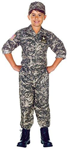 U.S. Army Camo Costume Size: Medium