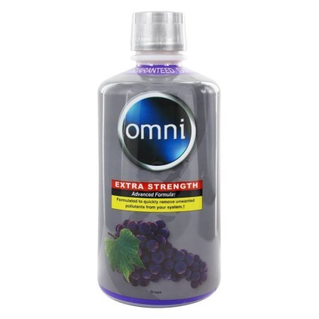 Omni Cleansing Drink Extra Strength - Purified Omni Detox 32 oz liquid Extra Strength Advanced Formula Flavor- GRAPE (2)