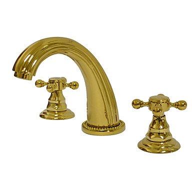 Miaoge Luxury Widespread Bathroom Sink tap - Ti-PVD Finish