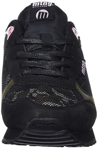 Mesh Verde Kaky MTNG C42799 Mujer Zapatillas Negro Camu 69394 Nilonka para xZBqXnIB