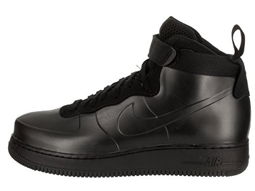 Nike Mens Air Force 1 Scarpa Casual Da Montare In Tazza Nero / Nero-nero
