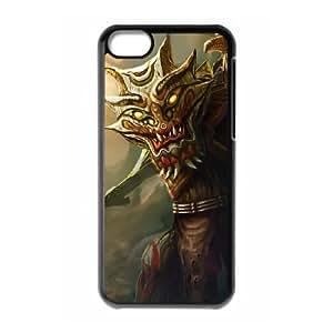 iPhone 5c Cell Phone Case Black League of Legends Totemic Maokai PD5359328