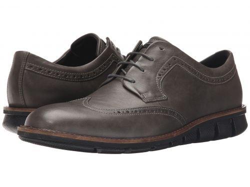 ECCO(エコー) メンズ 男性用 シューズ 靴 スニーカー 運動靴 Jeremy Brogue Tie - Titanium [並行輸入品] B07BDJXR21