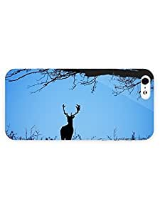 3d Full Wrap Case For HTC One M7 Cover Animal Deer10