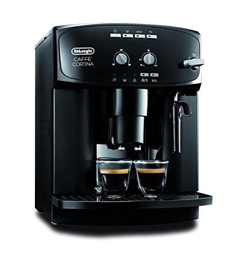 DeLonghi ESAM 2900 Kaffee-Vollautomat (1,8 Liter, 15 bar, Dampfdüse) schwarz