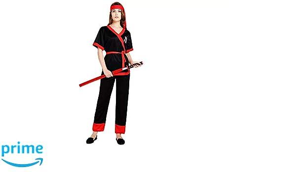 thematys® Disfraz de Samurai Ninja para Mujer Cosplay ...