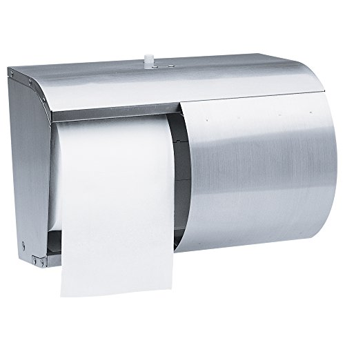 Kimberly Clark Professional Double Roll Coreless Toilet Paper Dispenser (09606), Stainless Steel by Kimberly-Clark Professional
