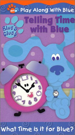 Price comparison product image Blue's Clues - Telling Time With Blue [VHS]