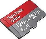 SanDisk Memory Card 128GB Ultra MicroSD Class 10