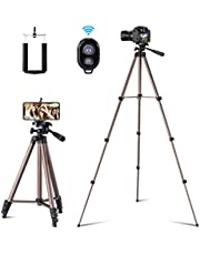 Ottertooth 127cm Tripod for Cellphone Camera Gopro Devices