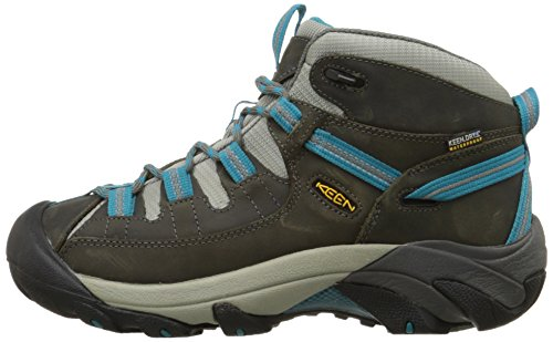 Images of KEEN Women's Targhee II Mid Waterproof Gargoyle/Caribbean Sea