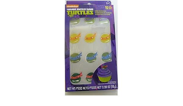 Nickelodeon Teenage Mutant Ninja Turtles 12 Icing ...