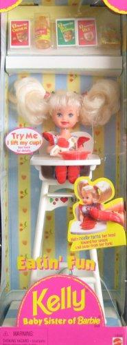 Barbie Eatin' Fun KELLY Doll Playset (Barbie Baby Stuff)
