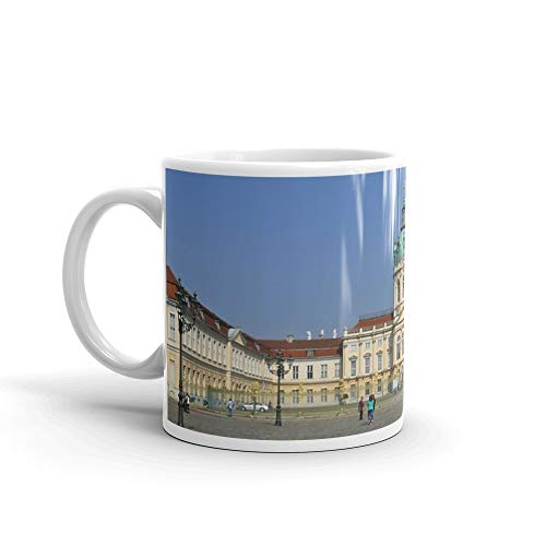 Charlottenburg Palace - Charlottenburg Palace, Berlin (Charlottenburg Palace) 11 Oz White Ceramic