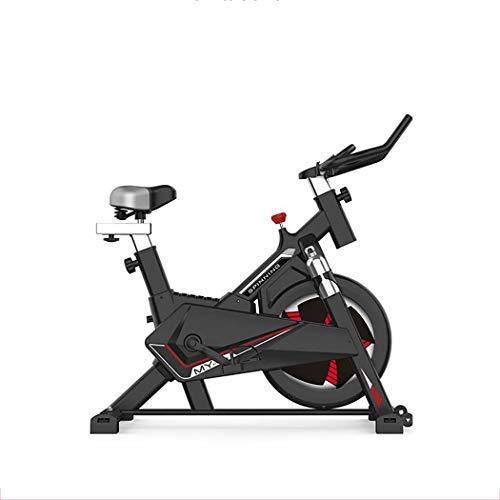 JSYFZ Bicicleta estática compacta, Gimnasio en casa Bicicleta estática, Suave, silenciosa, elíptica, máquina de Entrenamiento con Monitor LCD y frecuencia del Pulso,Wh