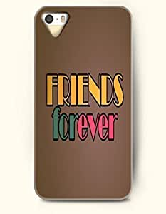 For Iphone 6 Phone Case Cover Hard with Design Friends Forever- Declaration - For Iphone 6 Phone Case Cover